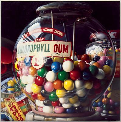 "Gum Ball no. 10: ""Sugar Daddy"" , Charles Bell, 1975. Solomon R Guggenheim Museum, New York"