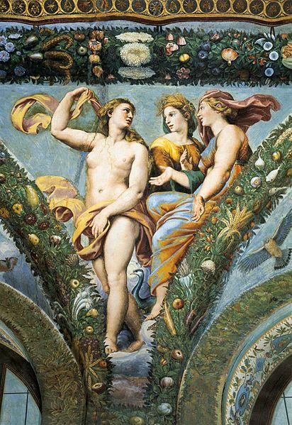 Venus, Ceres and Juno , Giulio Romano