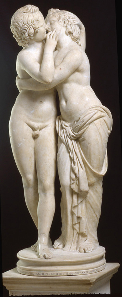 Cupid and Psyche Kiss , 2nd half of 2nd century AD, Capitoline Museums, Rome