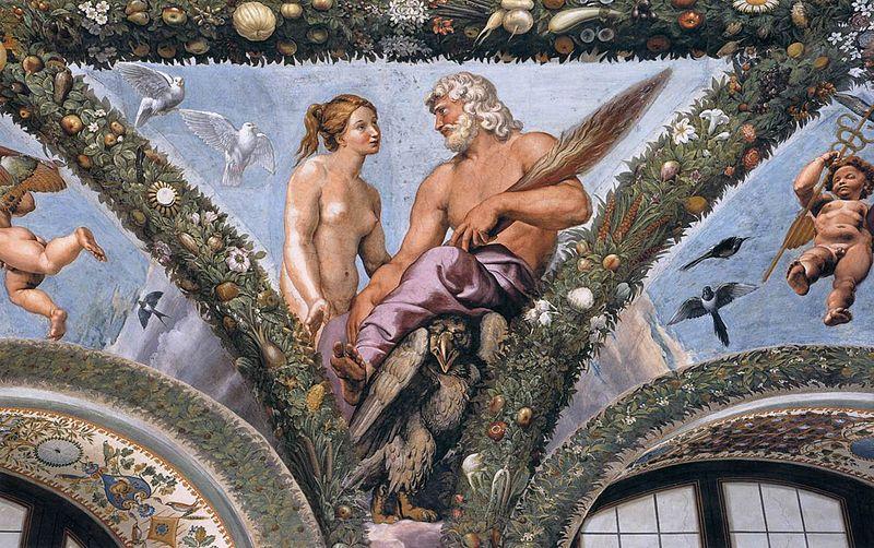 Venus and Jupiter , Giovan Francesco Penni