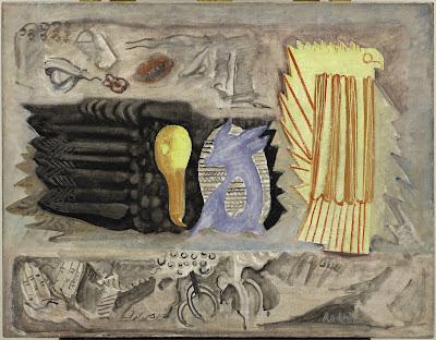 Untitled , Mark Rothko, 1942. Solomon R Guggenheim Museum, New York