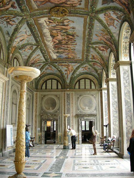 Loggia of Cupid and Psyche, Villa Farnesina, Rome
