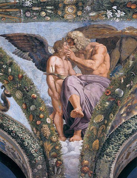 Cupid and Jupiter , Giulio Romano