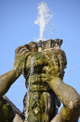 Detail of the Fountain of the Triton by Gianlorenzo Berlini, photo by  SpirosK