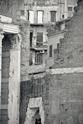 View from Via dei Fori Imperiali, photo by  Giulio Menna