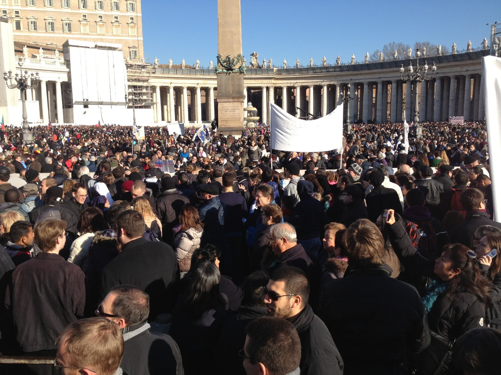 Upwards of 150,000 people came to say goodbye to Benedict XVI