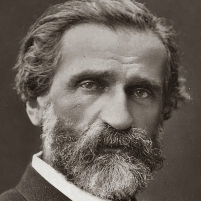 Portrait of Giuseppe Verdi. [ Source ]