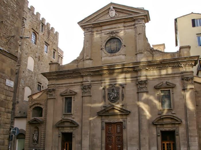 Basilica of Santa Trinità, Florence. [ source ]