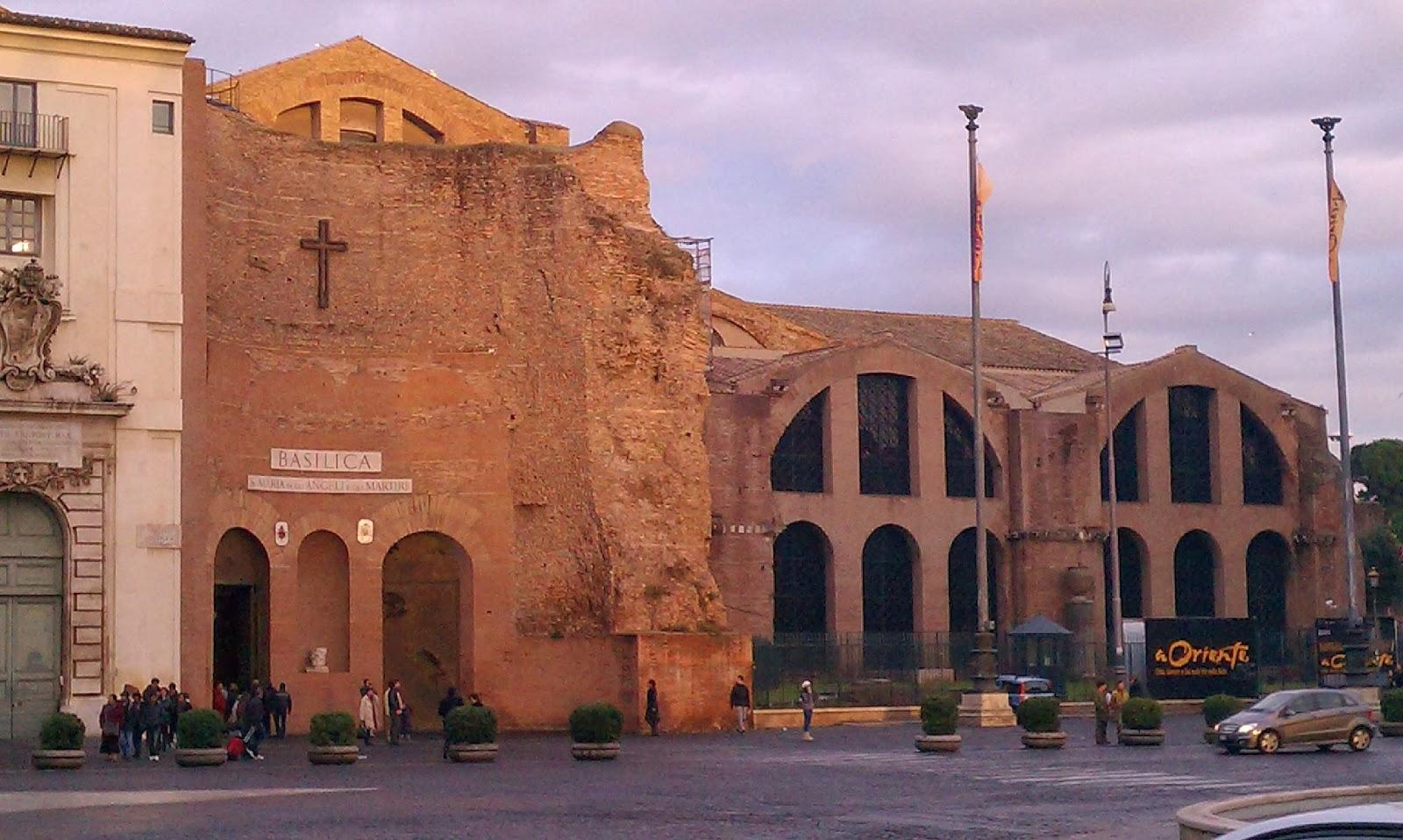 Santa Maria degli Angeli e dei Martiri, Michelangelo, Rome [ source ]