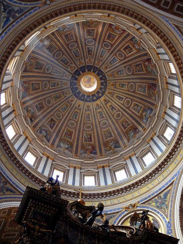 Dome of St. Peter's Basilica, Michelangelo [ source ]