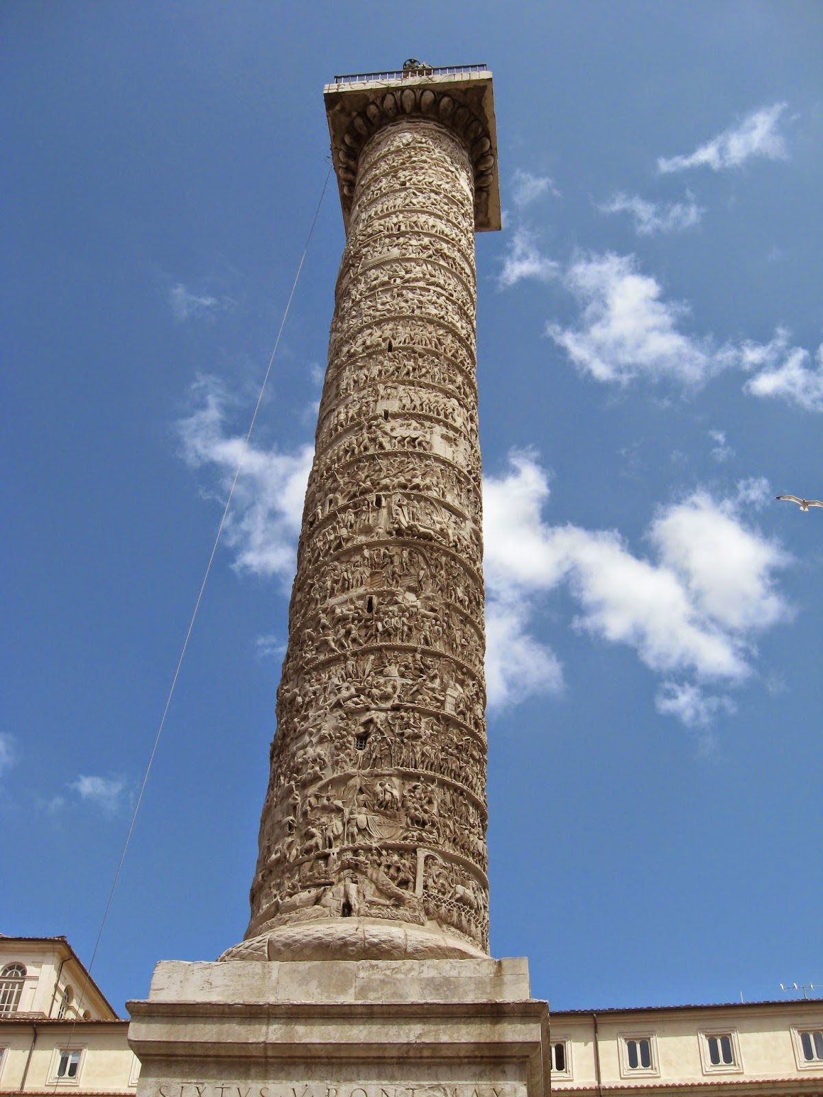 Column of Marcus Aurelius [ Source ]
