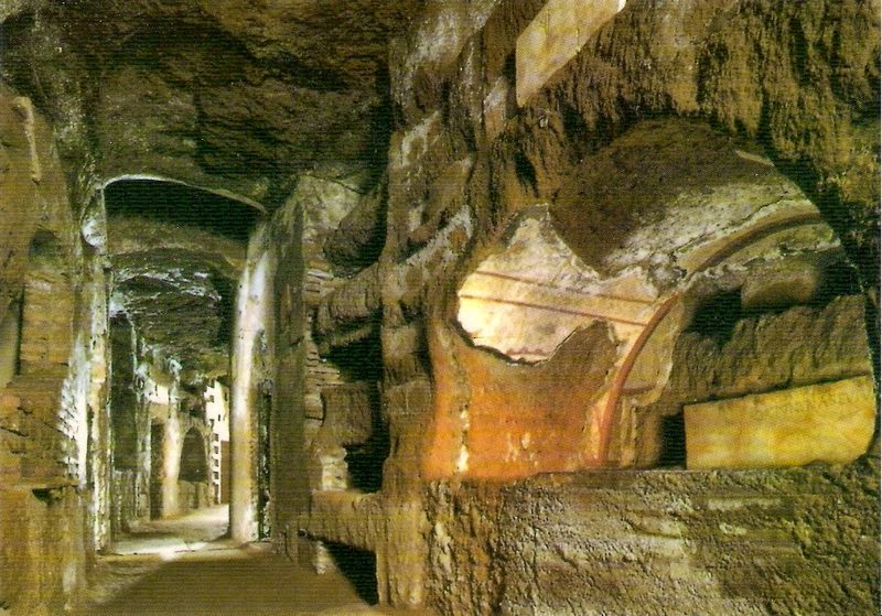 Catacombs of San Callisto, Rome [ source ]