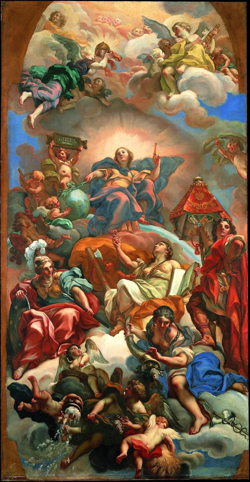 The Allegory of Mercy   , Carlo Maratta, Palazzo Altieri