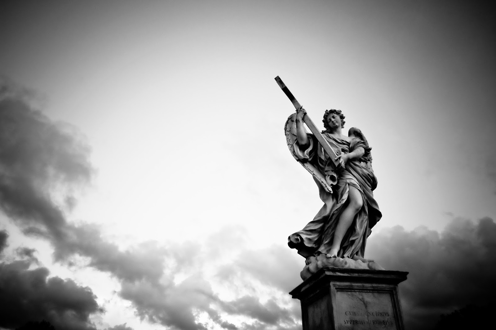 Angel Statue (copy after Bernini), Bridge of the Angels, © Fabiana@Flickr.com