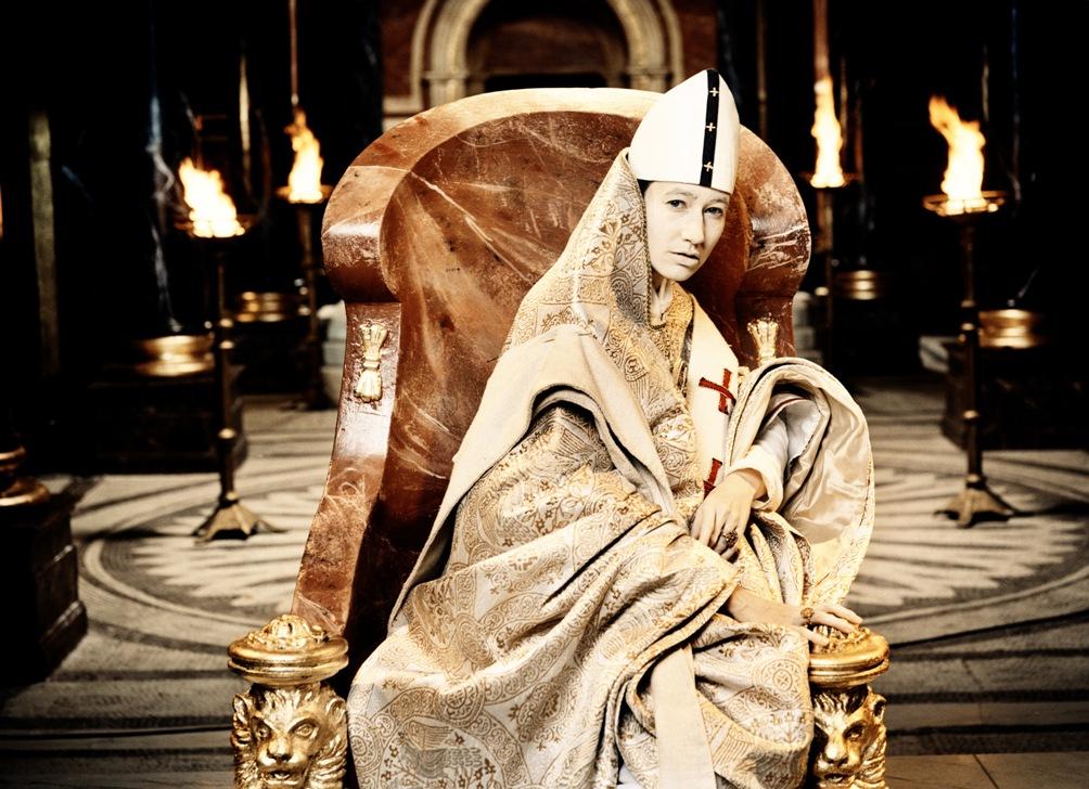 Johanna Wokalek as the title character in  Pope Joan  (Constatin Film)