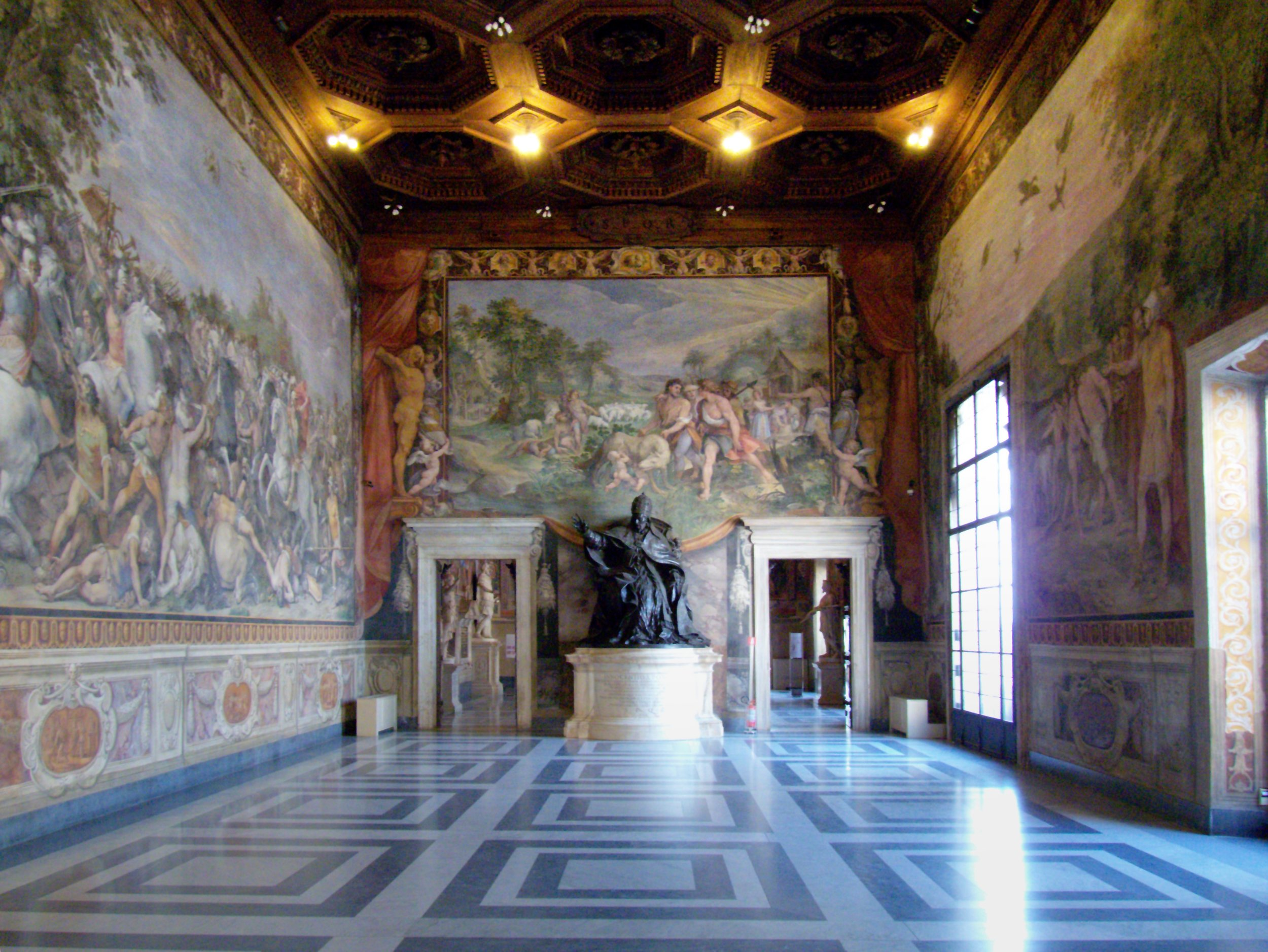 Capitoline Museums, Hall of the Horatii and the Curiatii [ Source ]