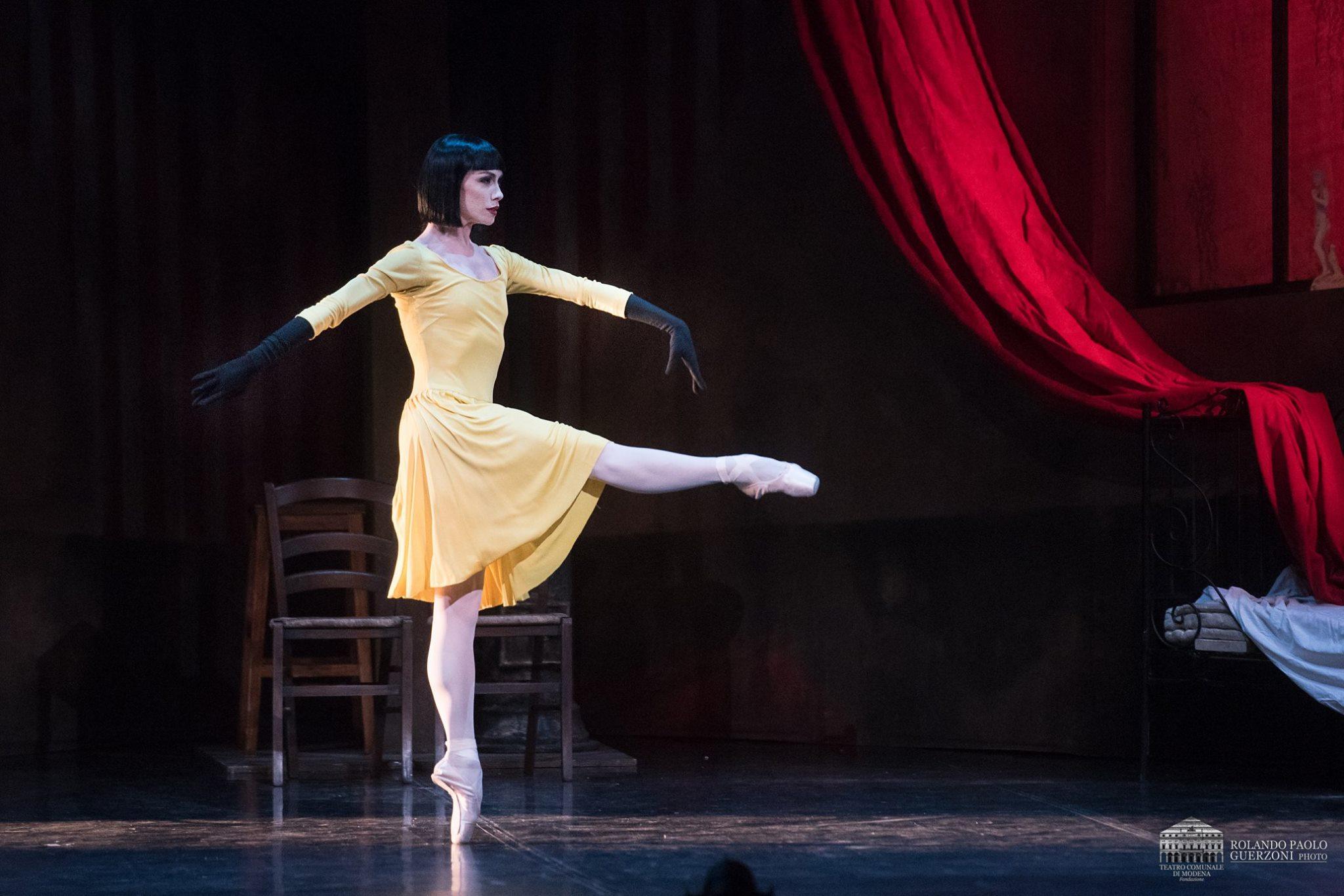 Eleonora Abbagnato in Roland Petit's  Le Jeune Homme et La Mort,  © Rolando Paolo Guerzoni