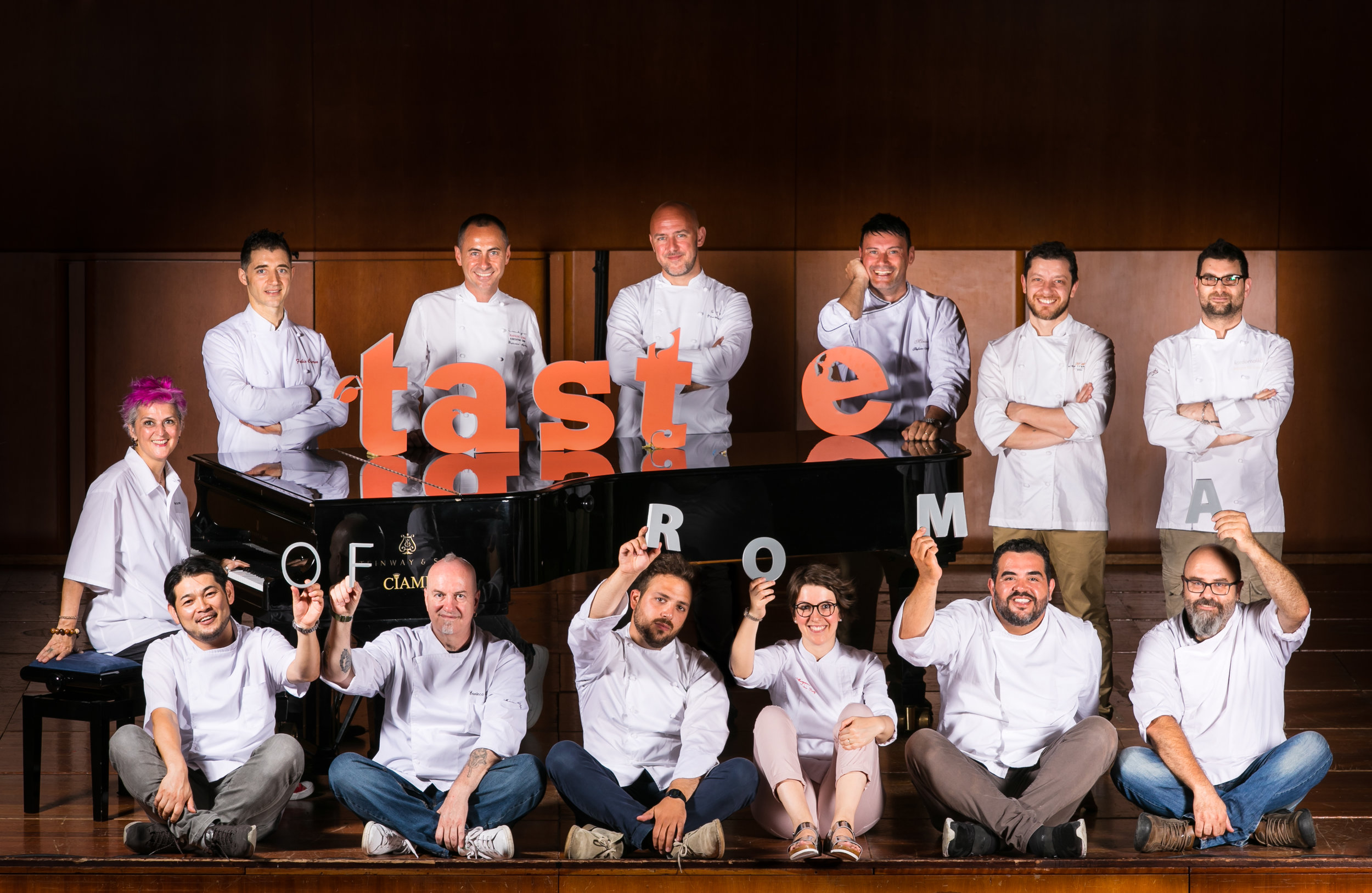 The Chefs of Taste of Roma 2017