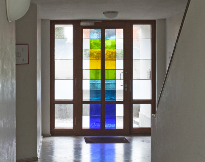 Eingang Studentenwohnheim