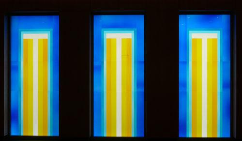 Glasfenster Andachtsraum