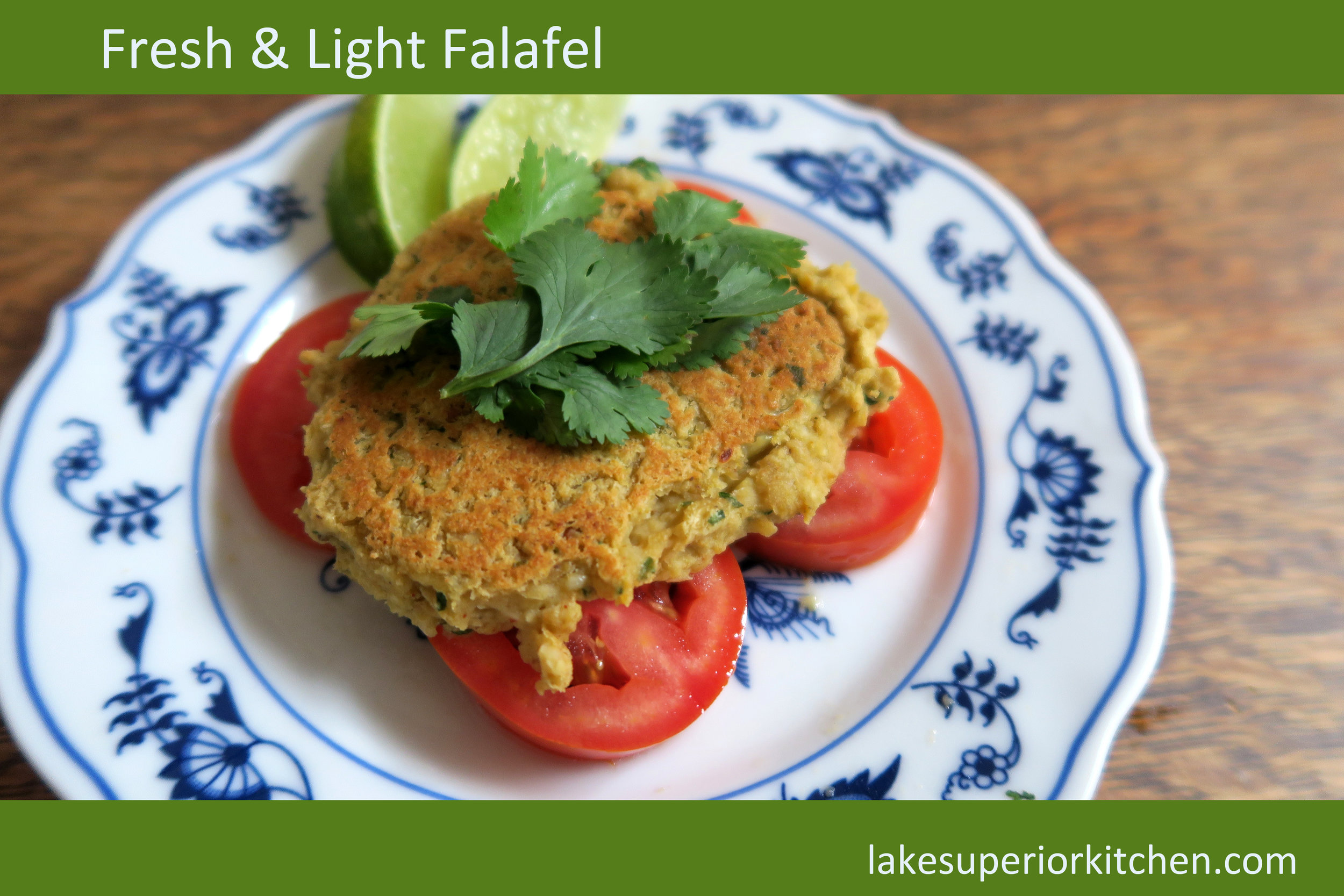 falafel, healthy recipes, vegetarian, vegan, chickpea, garbanzo beans, bean recipe, cilantro, appetizer, whole30 reintroduction, healthy recipe, meatless, grain free, gluten free, vegan, vegetarian, lake superior kitchen, duluth food