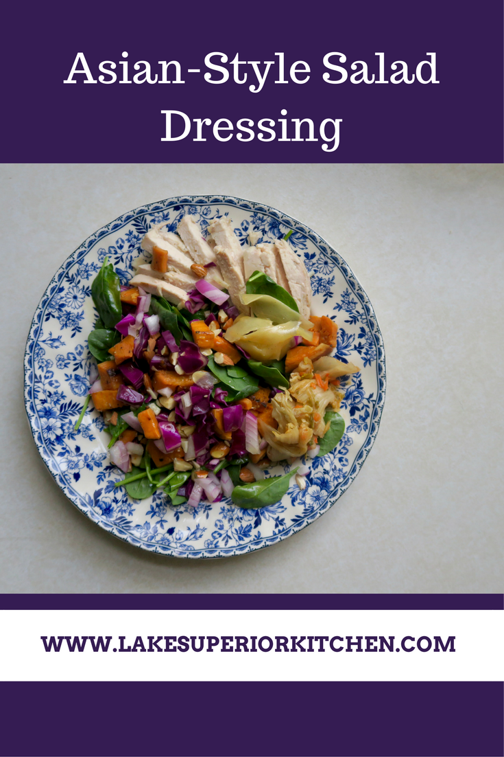 Asian Salad Dressing, Lake Superior Kitchen, Paleo