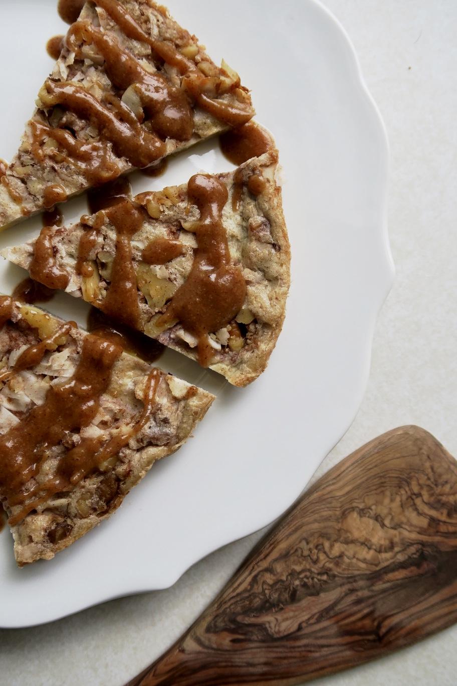 Plaintain (No) Bread Pudding, Lake Superior Kitchen, grain free, paleo