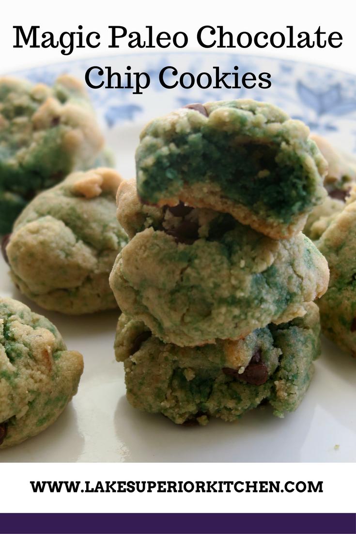 Paleo Chocolate Chip Cookies, Lake Superior Kitchen, grain free cookies, paleo cookies