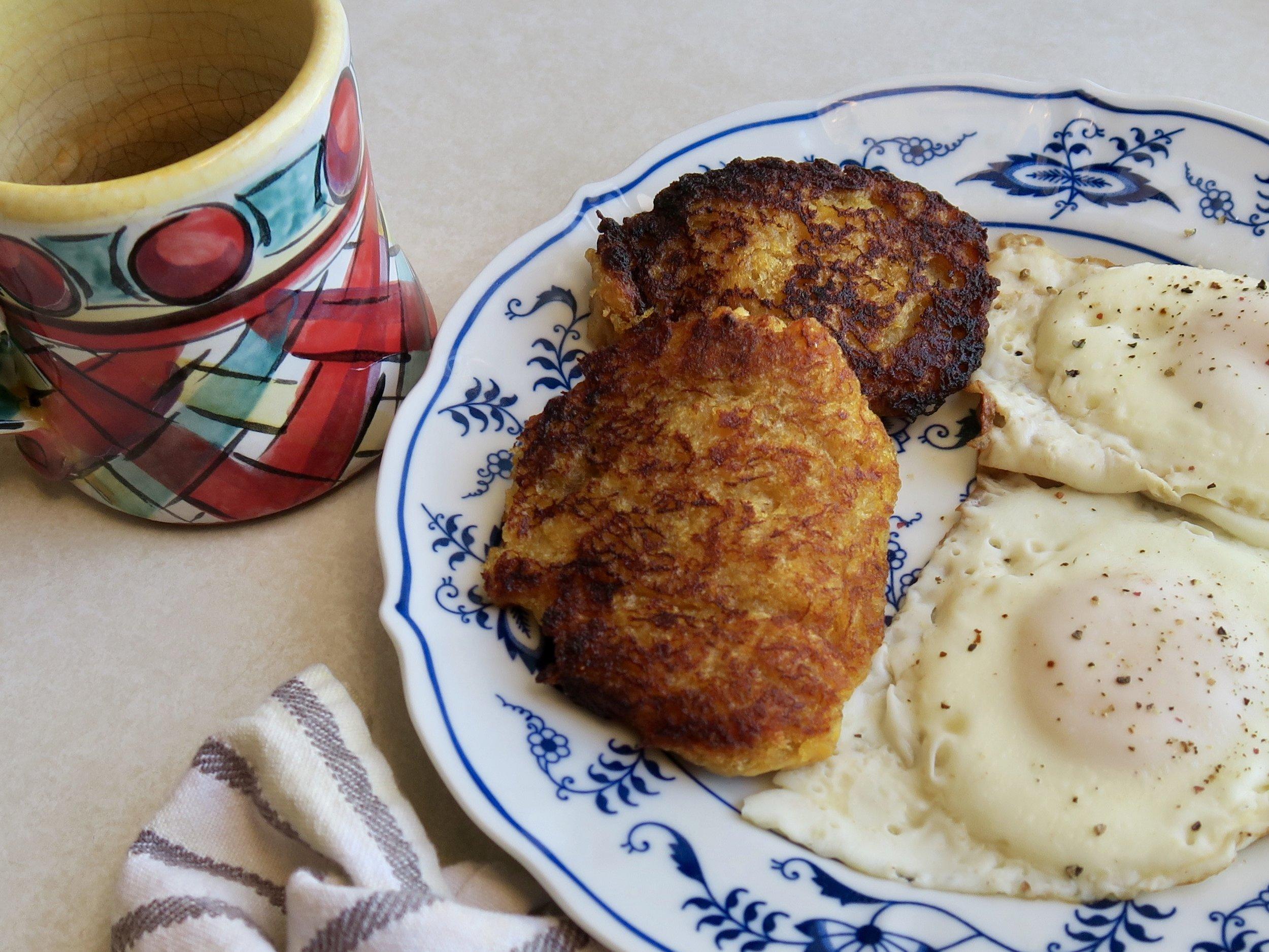Fried Plantains, Lake Superior Kitchen, Grain Free breakfast, Paleo breakfast