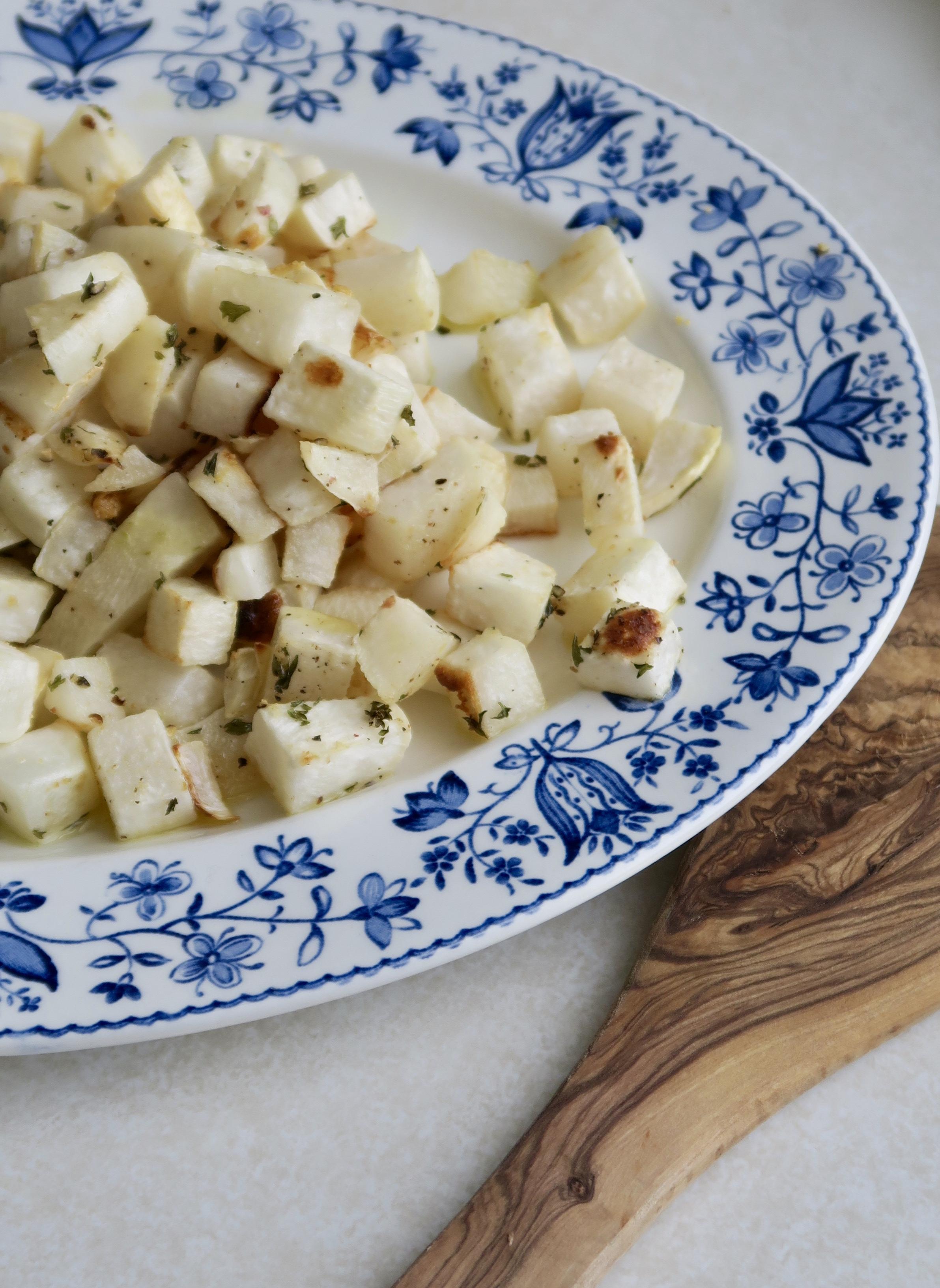 Roasted Turnips, Lake Superior Kitchen, Whole30, Paleo