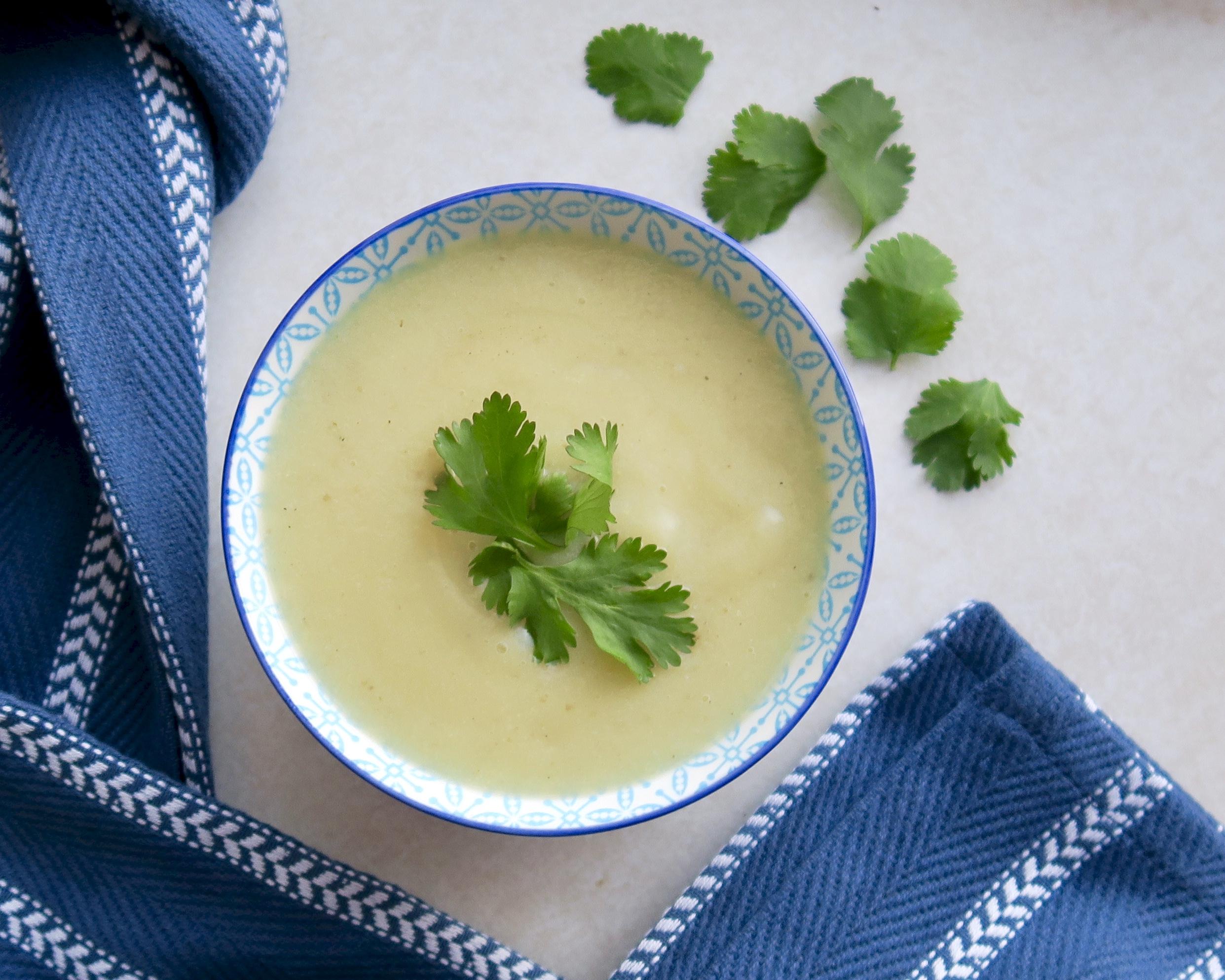 Cauliflower Soup, Lake Superior Kitchen, Whole30, Paleo, Grain Free
