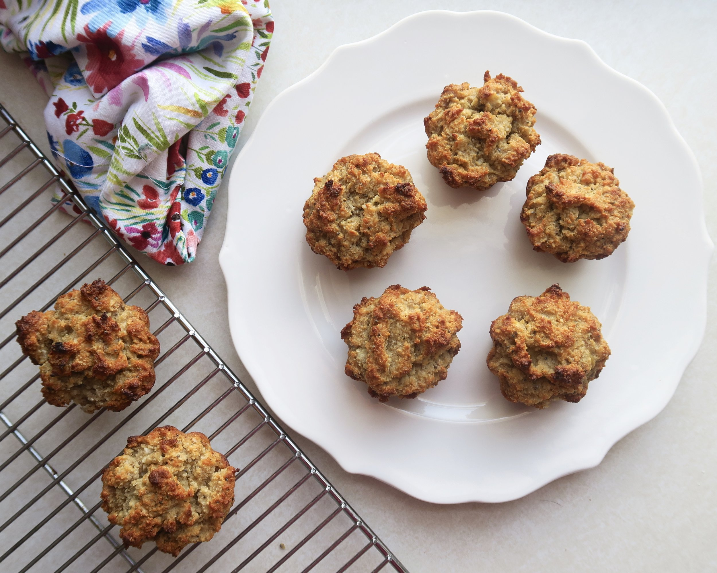 Lake Superior Kitchen, Coconut Banana Muffins, Grain Free, breakfast, paleo