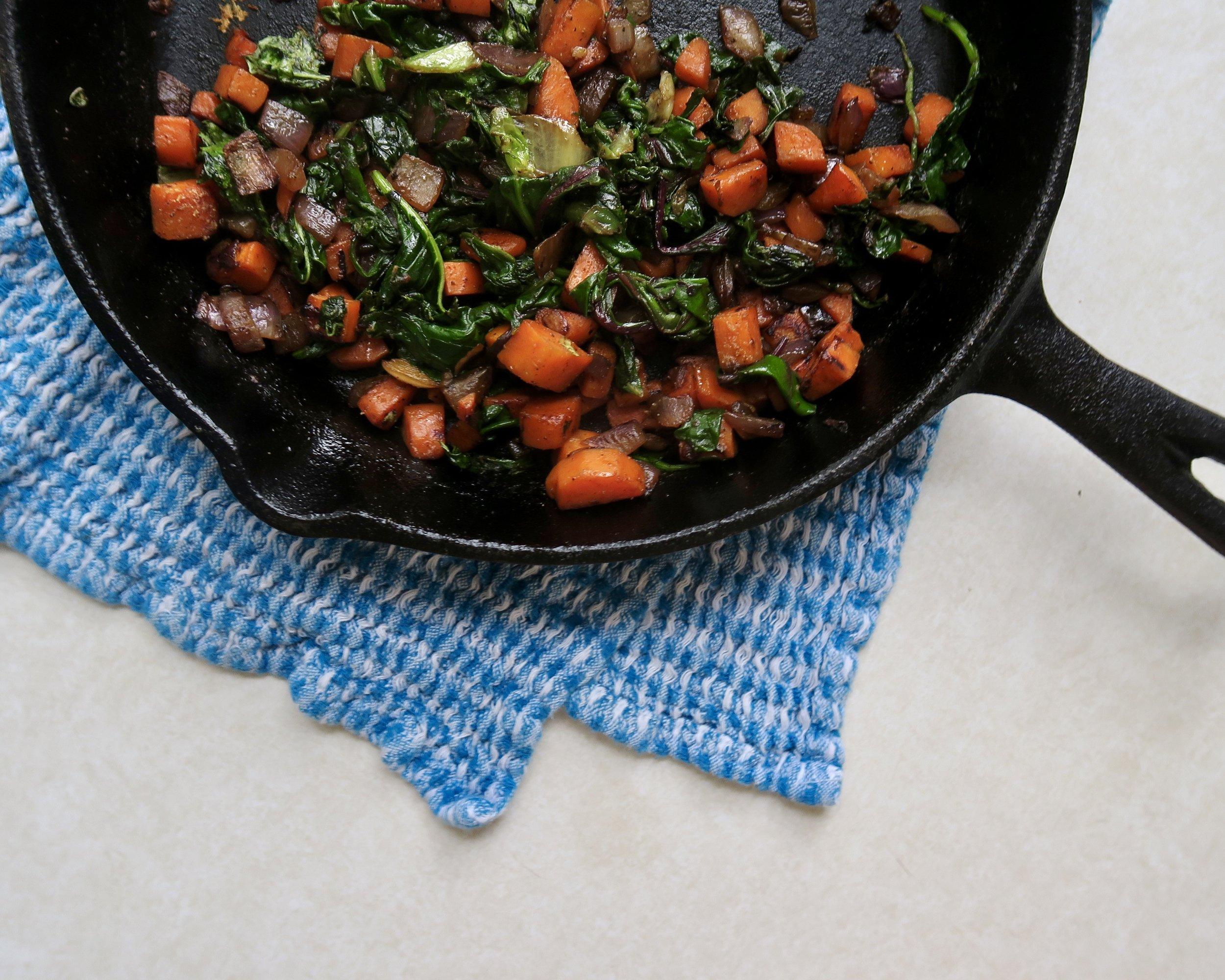Breakfast Mixed Veggies, Lake Superior Kitchen