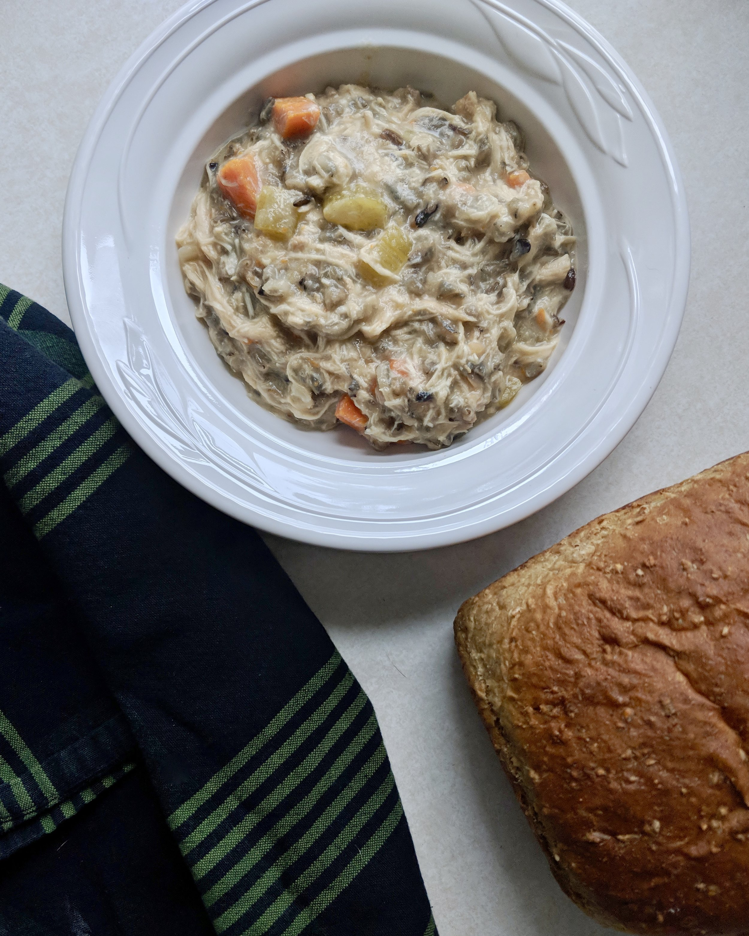 Chicken Wild Rice Soup, Lake Superior Kitchen