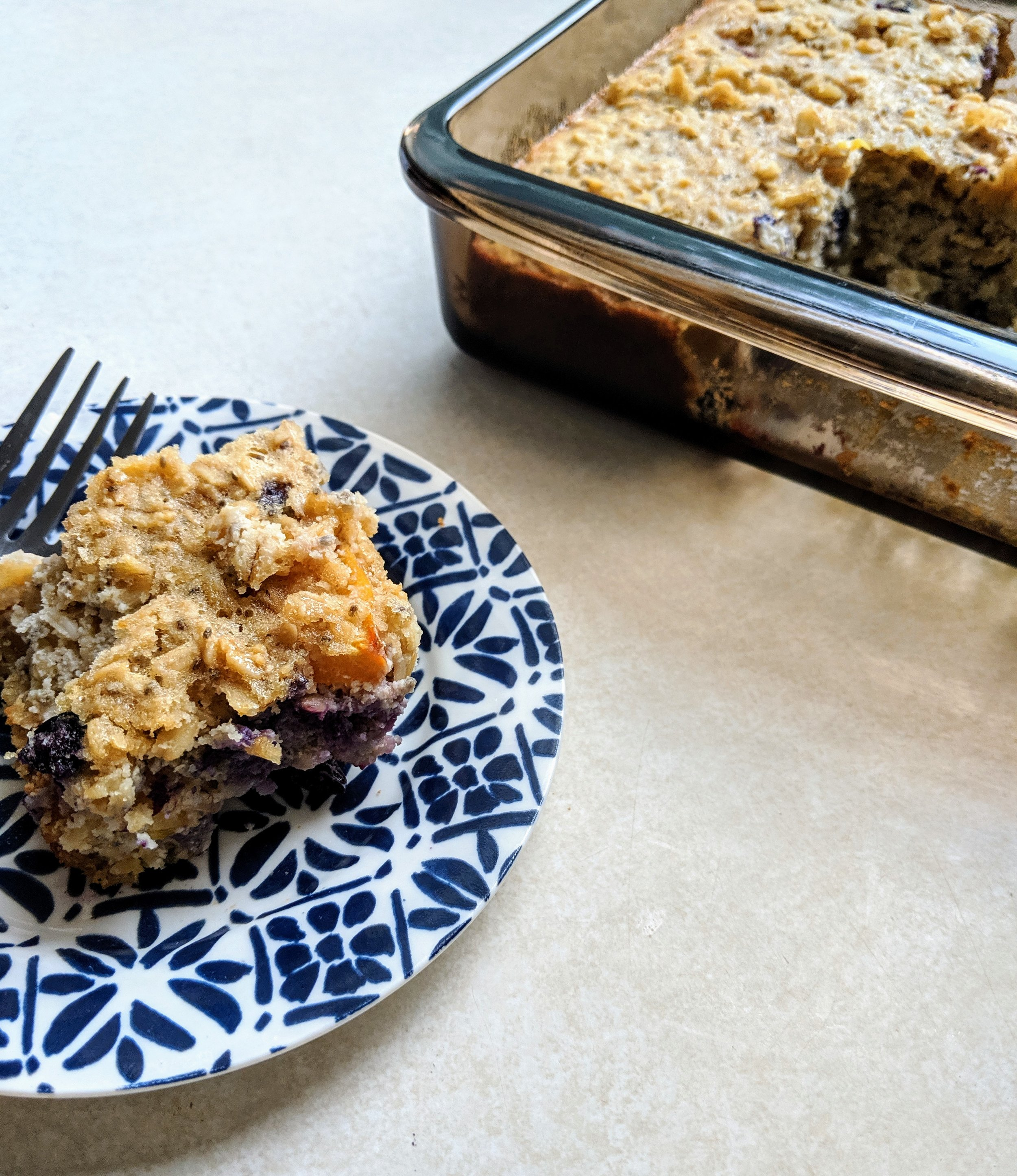 Baked Oatmeal, Lake Superior Kitchen, gluten free, dairy free, healthy recipe
