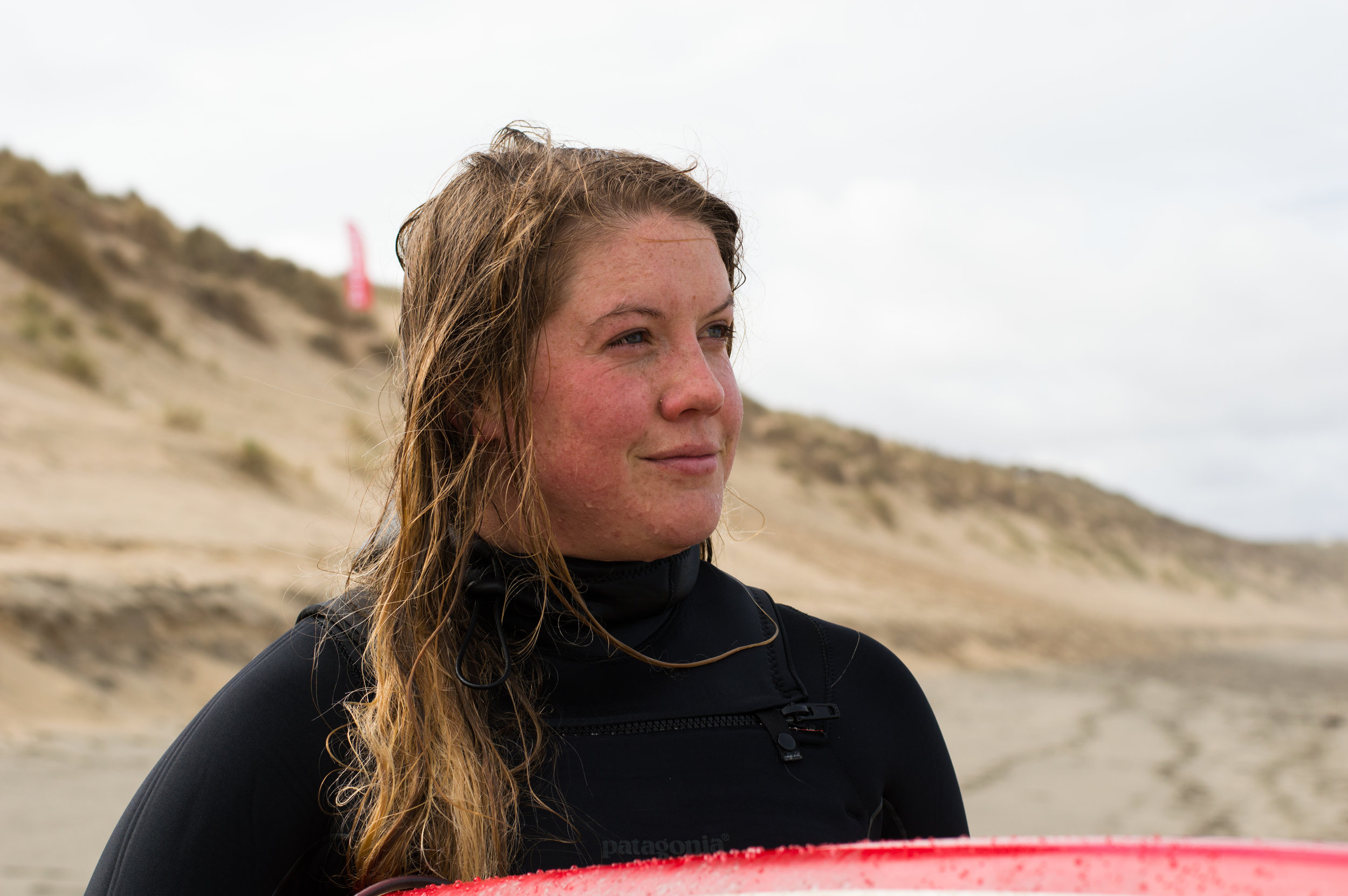 The steady intent look post-surfing    Zoe , April-2018. Sophie Bradley