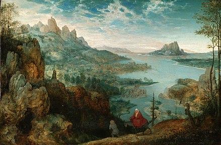 Pieter Bruegel the Elder, Landscape with the Flight into Egypt   https://en.wikipedia.org/wiki/World_landscape