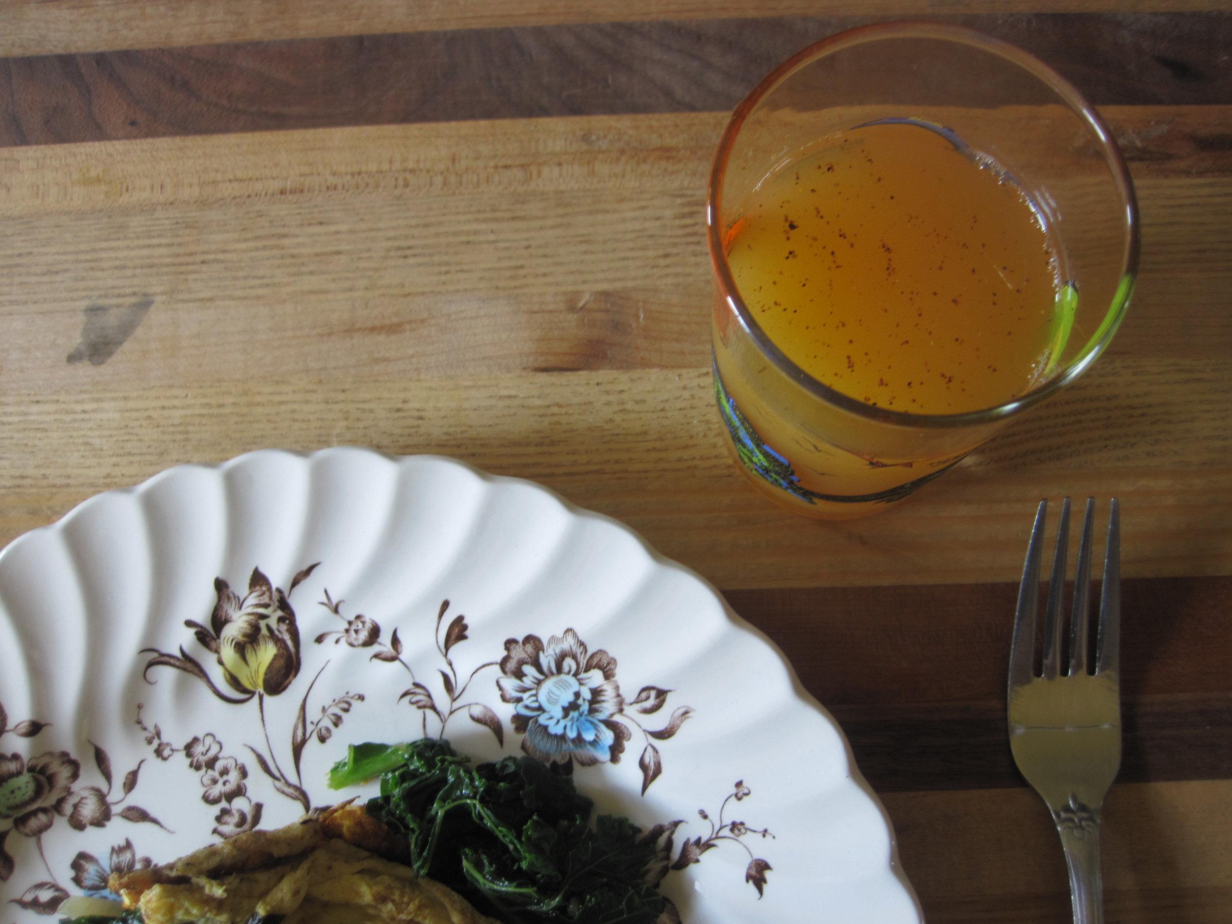 How to make: - Cantaloupe Agua Fresca
