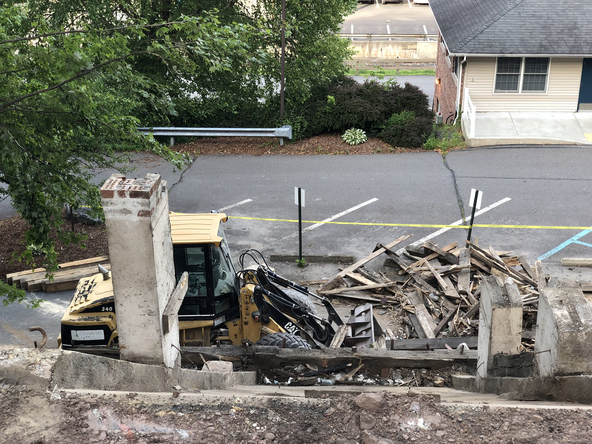 After Demolition - July, 2019