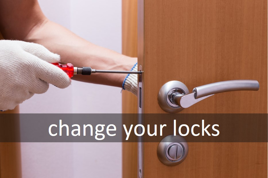 Change your locks