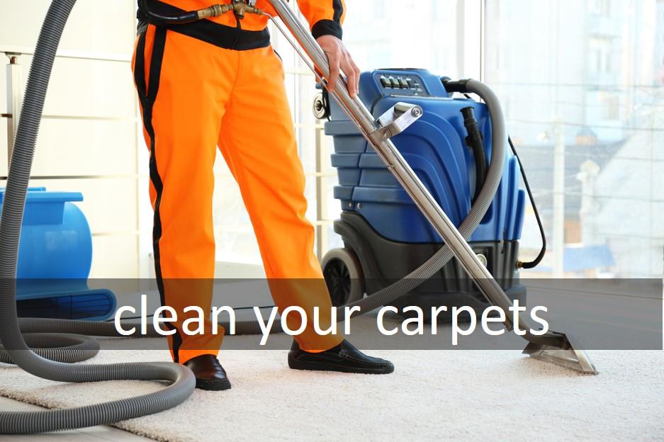 Clean your carpets