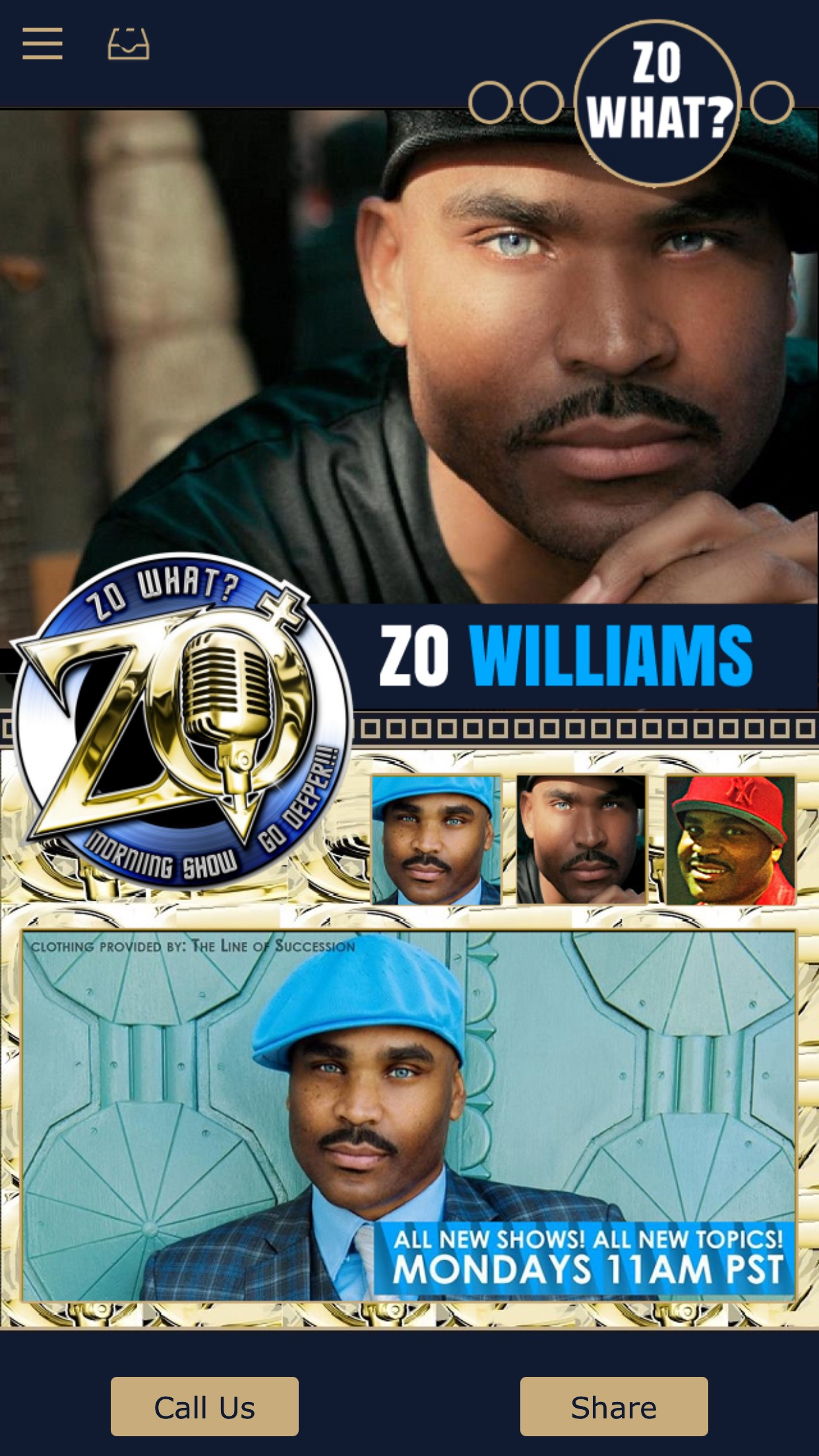 Zo Williams App 1