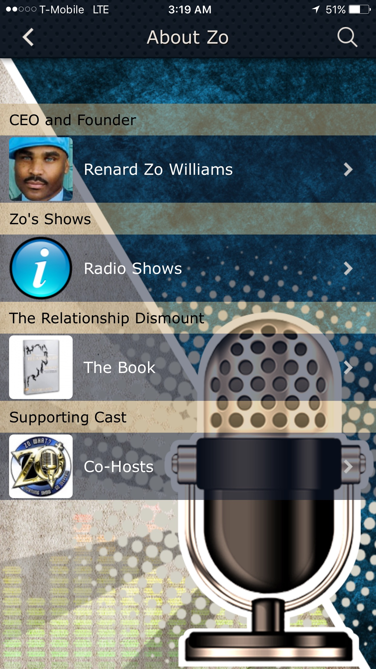 Zo Williams App 2