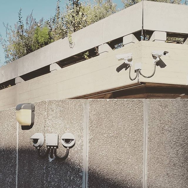 All of the #cctv cameras #videosurveillance #security #brutalism Reposted from @torenconsult