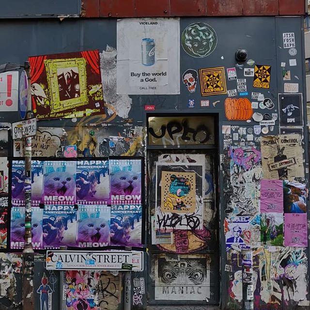 Post no bills #builtenvironmentsecurity #posterdesign #door