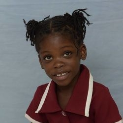Shantiva Deair - Birthday: December 16, 2009Personality: Sometimes shy, Shantiva is loving and friendly.Interests: Shantiva likes playing with playdoh and building blocks.Abilities: Colors very well and reads picture cards.Campus: Kingston
