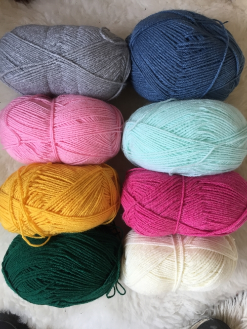 Crochet Along colour palette