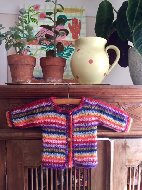 Baby Rainbow Cardigan