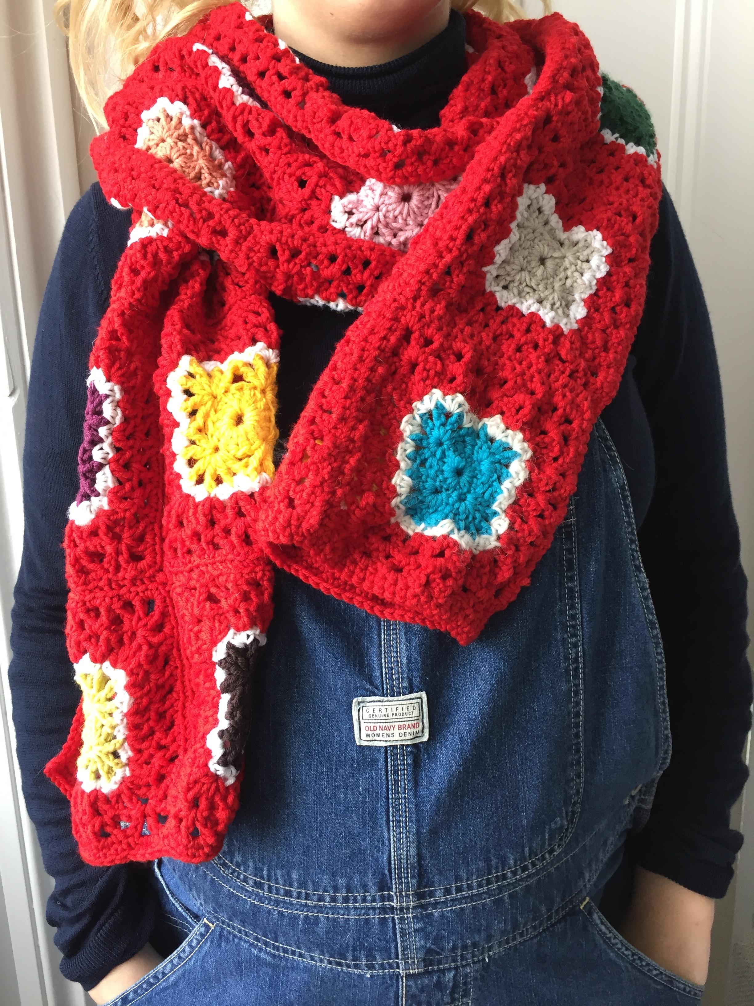 Paloma Scarf - February Crochet Club