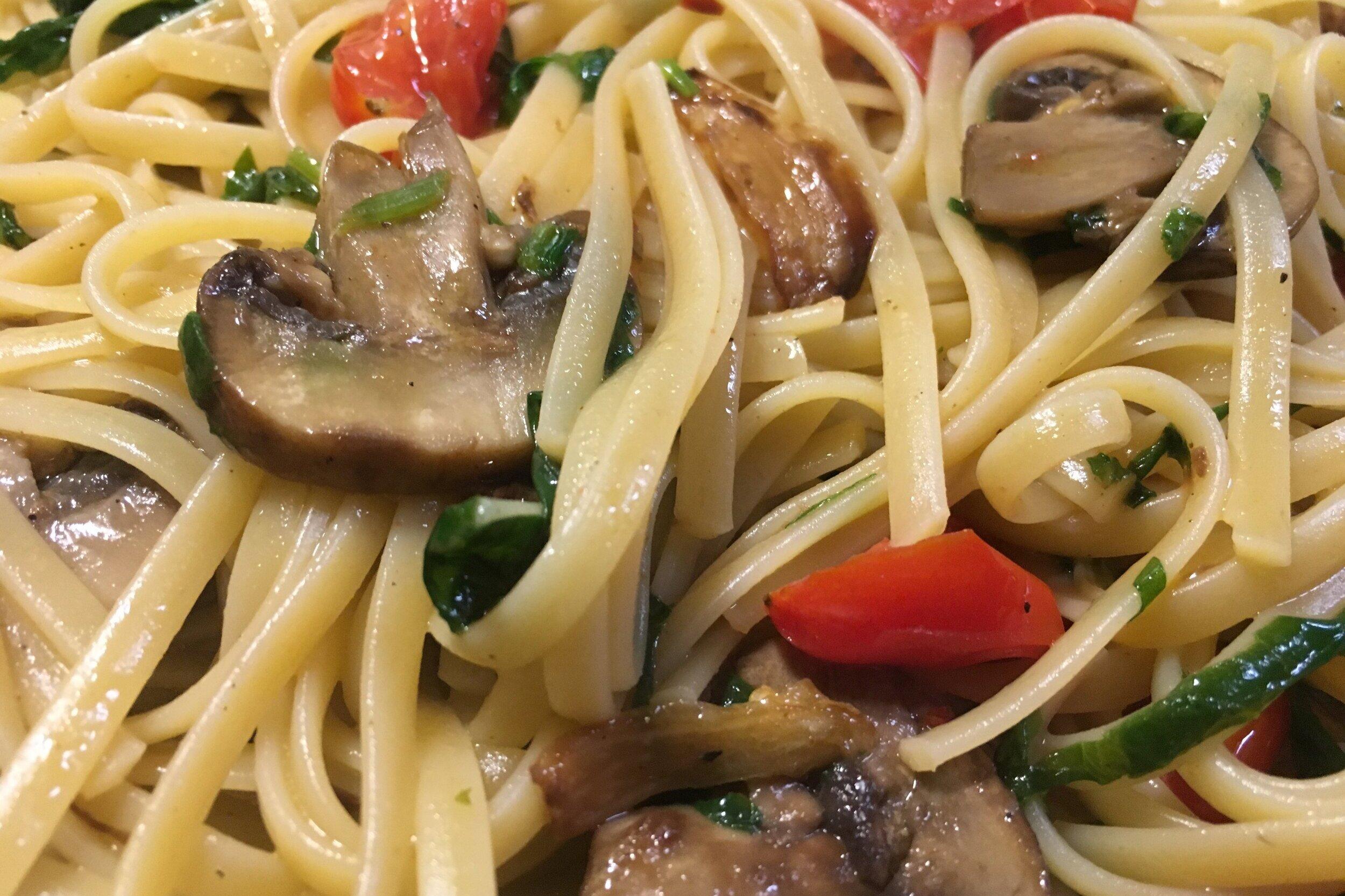 Pasta w/veggies
